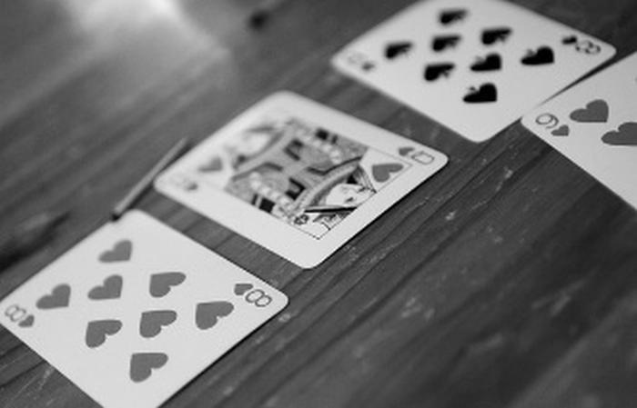 Poker spel kort